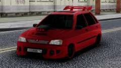 Kia Pride Tuning Red для GTA San Andreas