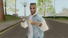 XXXTentacion Skin V2 для GTA San Andreas