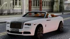 Rolls-Royce Dawn 2017 White для GTA San Andreas