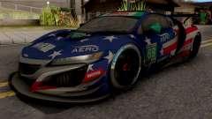 Acura NSX R3 2018 для GTA San Andreas