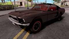 Ford Mustang Fastback GT390 Bullitt 1968 Custom для GTA San Andreas
