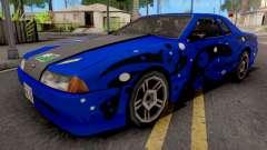Blue Elegy Paintjob для GTA San Andreas