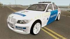 BMW 330i Magyar Rendorseg для GTA San Andreas