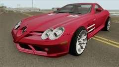 Mercedes-Benz SLR Mclaren 2005 HQ для GTA San Andreas