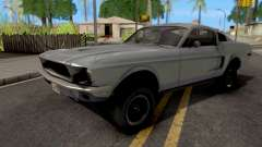 Ford Mustang Fastback GT390 Bullitt 1968 для GTA San Andreas