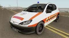 Peugeot 206 Mentoorvos