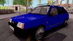 ВАЗ-21093 Blue для GTA San Andreas