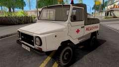 ЛуАЗ-2403 Медслужба для GTA San Andreas