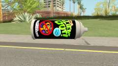 AlienOut Spraycan (From Spongebob) для GTA San Andreas