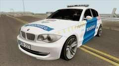BMW 120i E87 Magyar Rendorseg для GTA San Andreas