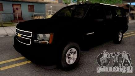 Chevrolet Suburban LT 2007 Black для GTA San Andreas