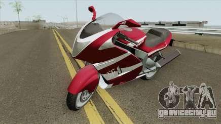 Hakuchou GTA V (Texturas Arregaldas) для GTA San Andreas