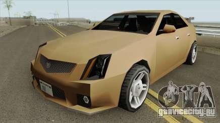 Cadillac CTS-V 2010 (SA Style) для GTA San Andreas