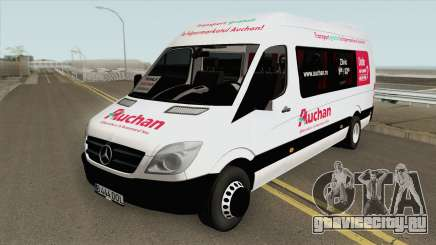 Mercedes-Benz Sprinder 313 CDi Auchan Romania для GTA San Andreas