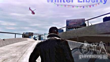 Winter Liberty V2 для GTA 4