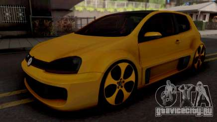 Volkswagen Golf GTI W12-650 для GTA San Andreas