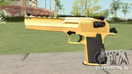 Desert Eagle Gold (HQ) для GTA San Andreas