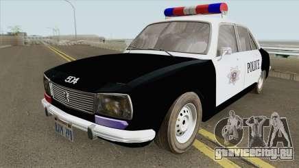 Peugeot 504 Police для GTA San Andreas