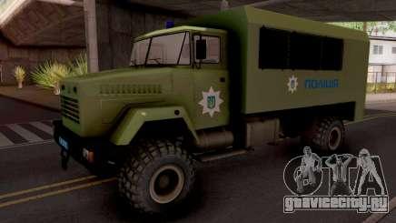 КрАЗ-6322 Police Ukraine для GTA San Andreas
