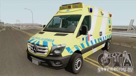 Mercedes-Benz Sprinter Facelift (SAMU Metropoli) для GTA San Andreas