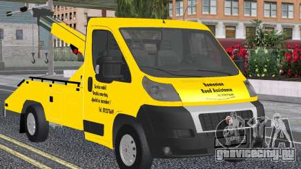 Fiat Ducato Road Asisstance Yellow для GTA San Andreas