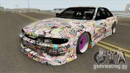 Nissan S14 Bomb (MTA Tokyo Drift) для GTA San Andreas