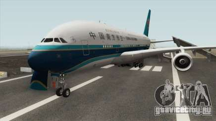 Airbus A380-841 (China Southern Airlines) для GTA San Andreas