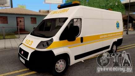 Fiat Ducato Ukraine Ambulance для GTA San Andreas