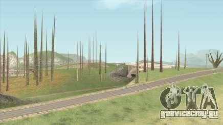 Vegetation Off для GTA San Andreas