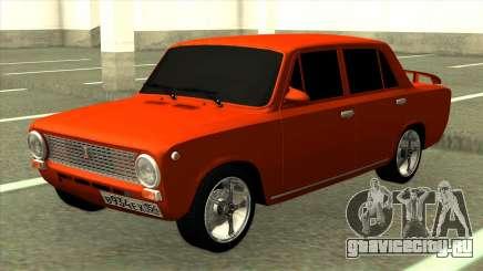 ВАЗ 2101 Красный Тюнинг для GTA San Andreas