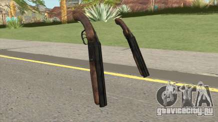 Sawnoff Shotgun HQ для GTA San Andreas