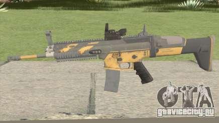 PUBG Nagant SCAR-L Anniversary для GTA San Andreas