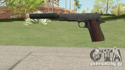 Silenced Pistol HQ для GTA San Andreas