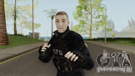 Custom R.P.D. S.W.A.T. для GTA San Andreas