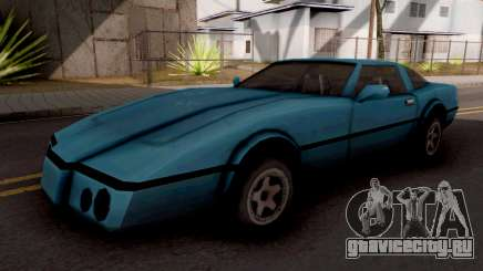 Banshee GTA VC Blue для GTA San Andreas
