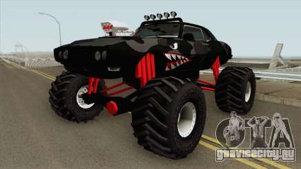 Pontiac Firebird Monster Truck Shark 1968  для GTA San Andreas