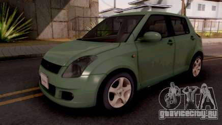 Suzuki Swift Green для GTA San Andreas