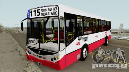 Linea 115 Metalpar Iguazu II Agrale MT15 Interno для GTA San Andreas