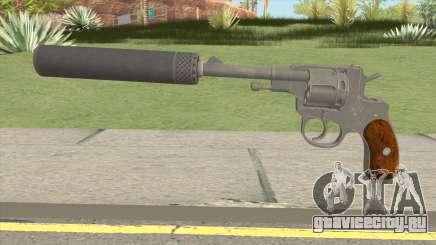 PUBG Revolver M1895 Silenced для GTA San Andreas