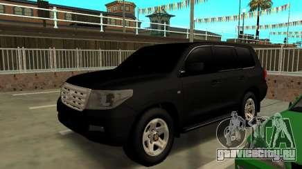 Toyota Land Cruiser 200 2009 Arab для GTA San Andreas