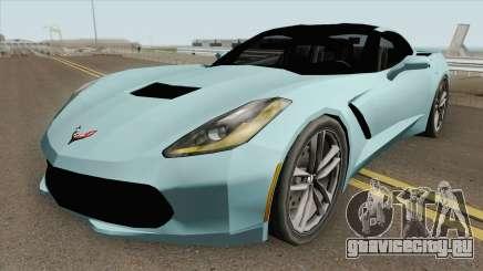 Chevrolet Corvette C7 Stingray (SA Style) для GTA San Andreas