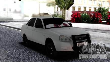 Лада Приора Глазастая для GTA San Andreas