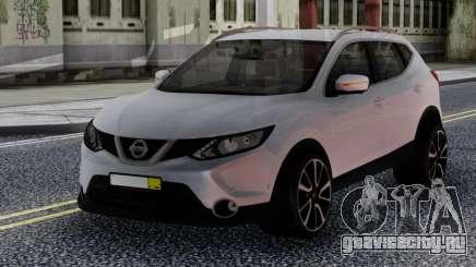 Nissan Qashqai 2016 White для GTA San Andreas