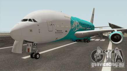 Airbus A380-800 (HiFly Livery) для GTA San Andreas