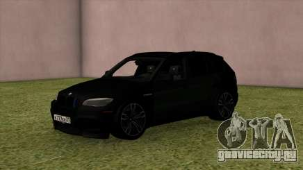 BMW X5M Black для GTA San Andreas