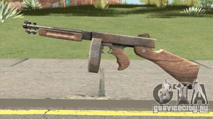 Chicago Typewriter Drum (Resident Evil 4) для GTA San Andreas