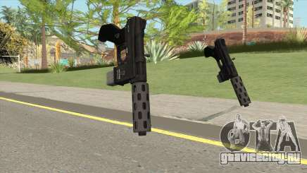 Vom Feuer Machine Pistol GTA V (Short Mag) для GTA San Andreas