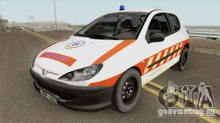 Peugeot 206 Mentoorvos для GTA San Andreas