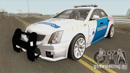 Cadillac CTS Magyar Rendorseg для GTA San Andreas