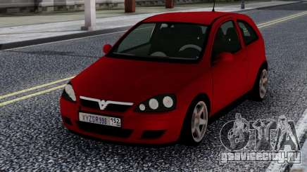 Opel Vauxhall Corsa 1.8 для GTA San Andreas
